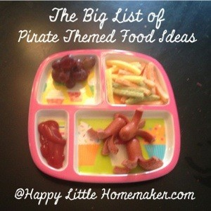 The Big List of Pirate-Themed Food Ideas {Pirate Week ...