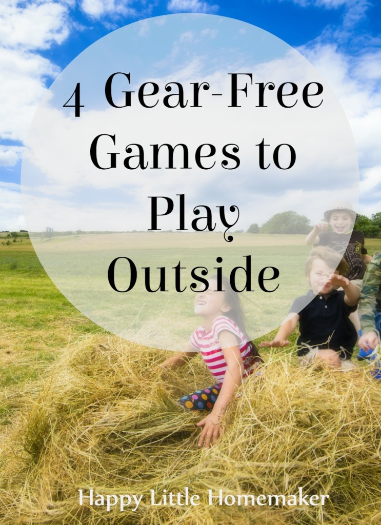 4 Gear-Free Games to Play Outside