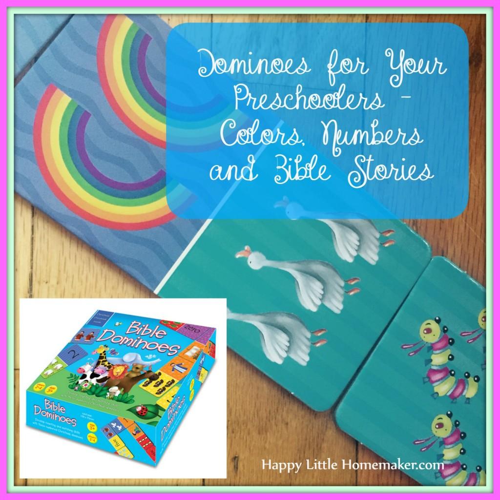 Bible Dominoes for Preschool