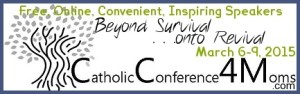 Catholic Conference 4 Moms Banner