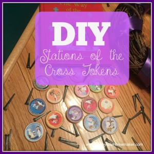 DIY Stations of the Cross token