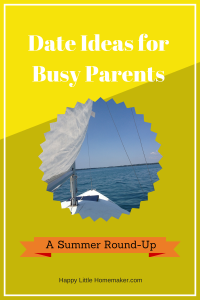 Date Ideas for Busy Parents - September 2014