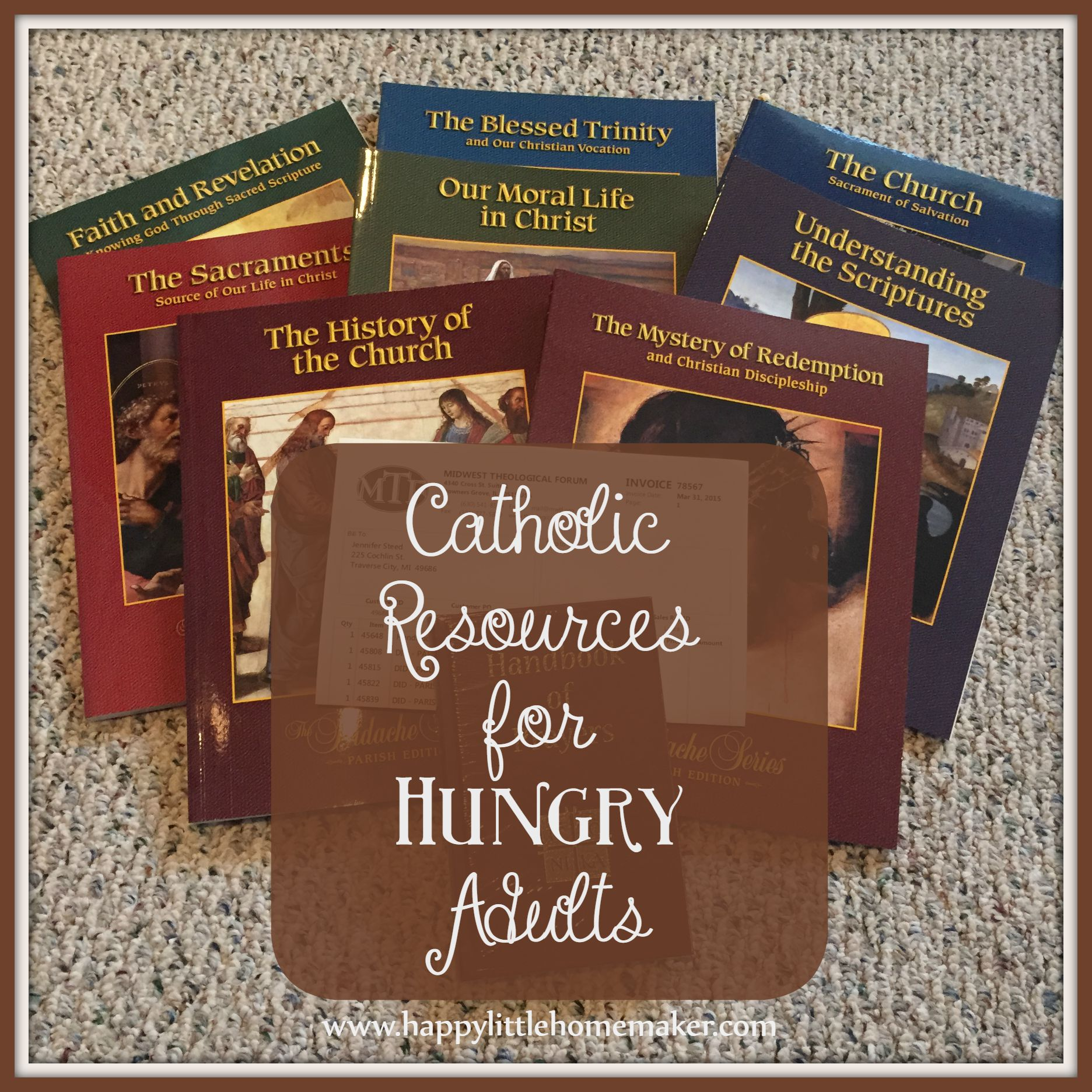 Didache Parish Series - Catholic Resources for Hungry Adults