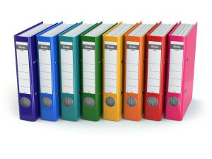 Set up a home management notebook