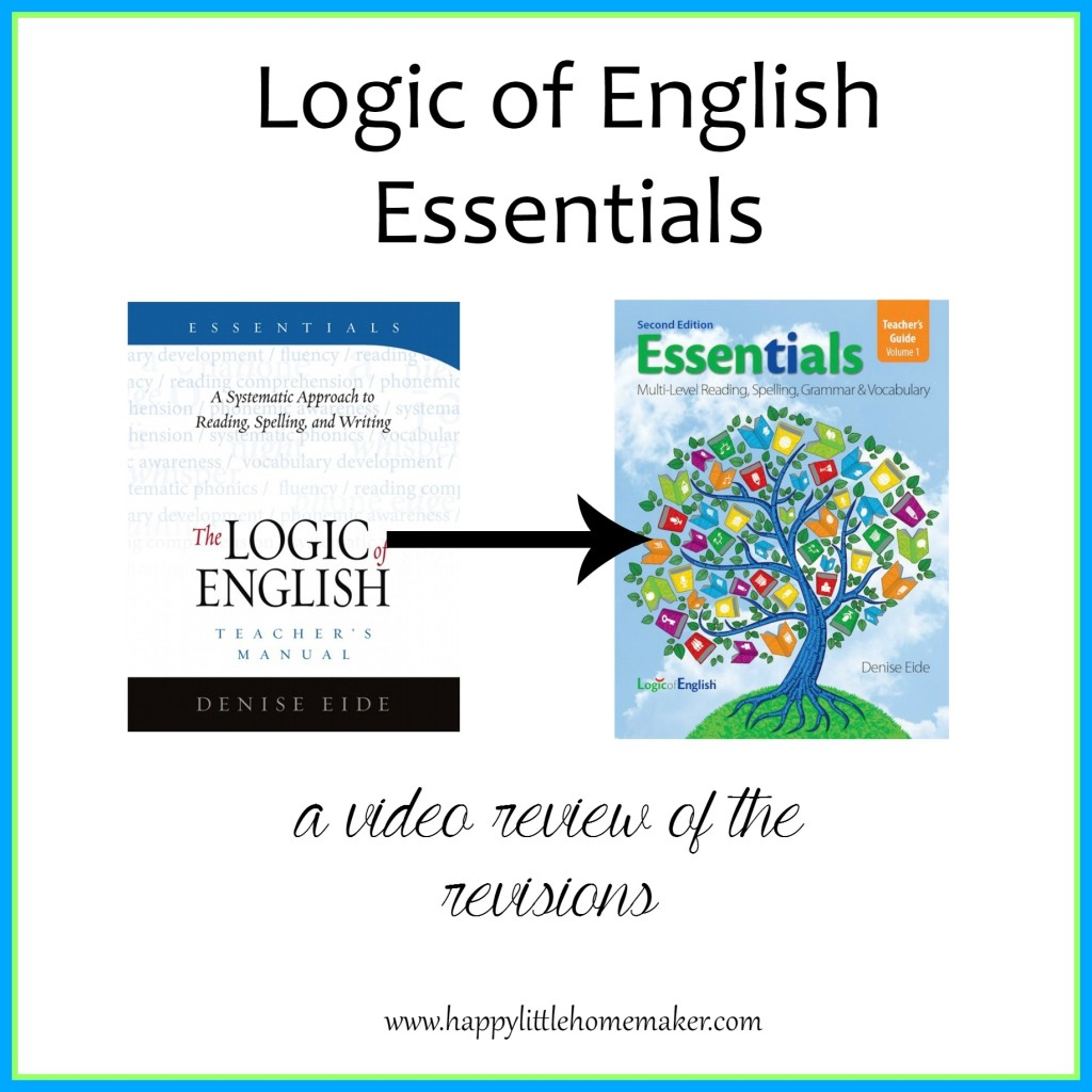 Essentials video review of revisions logic of english