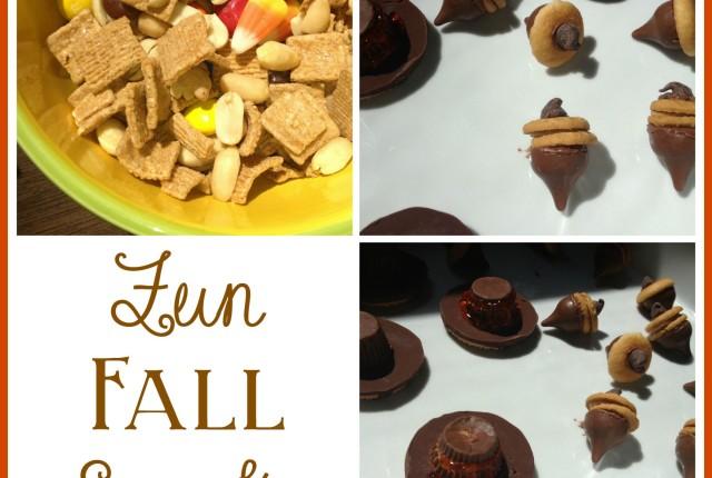 Fun Fall Snacks