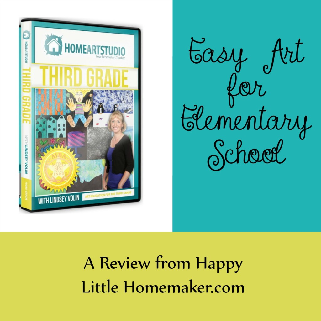 Home Art Studio Review - Third Grade