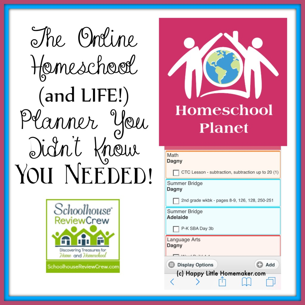 Homeschool Planet Review