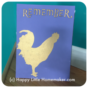 Remember - Lent Sign DIY