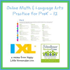 IXL math and language arts practice review