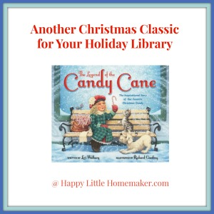Legend of the Candy Cane Board Book Review