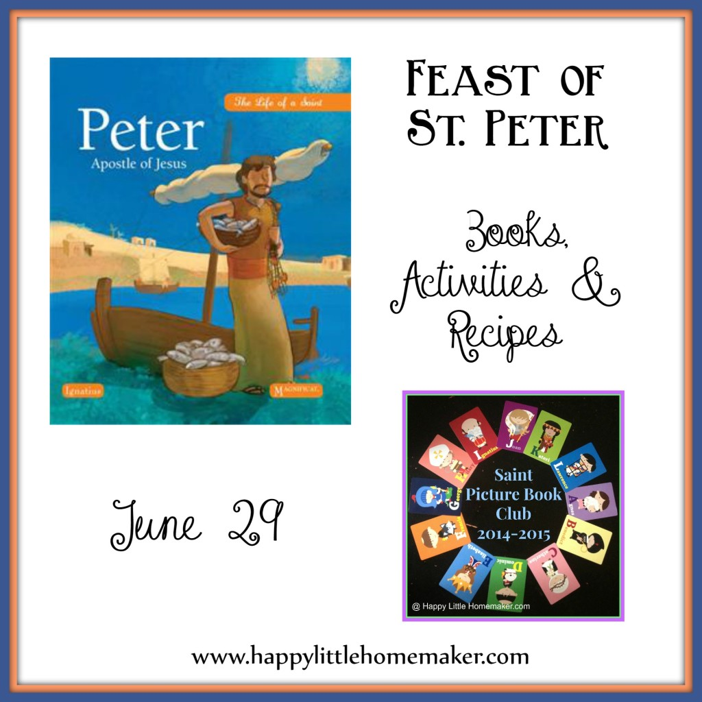 Saint Peter Books Activities & Recipes
