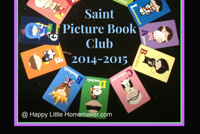 Saint Picture Book Club Wrapped Up!