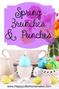 Spring Brunches & Punches