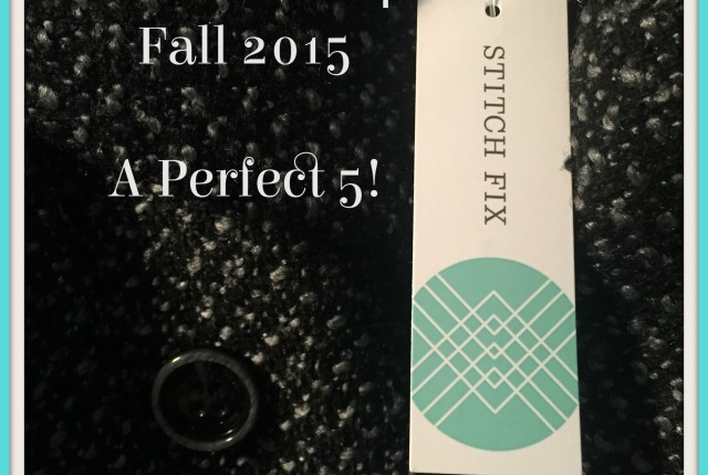 Stitch Fix 4 Fall 2015 Perfect 5