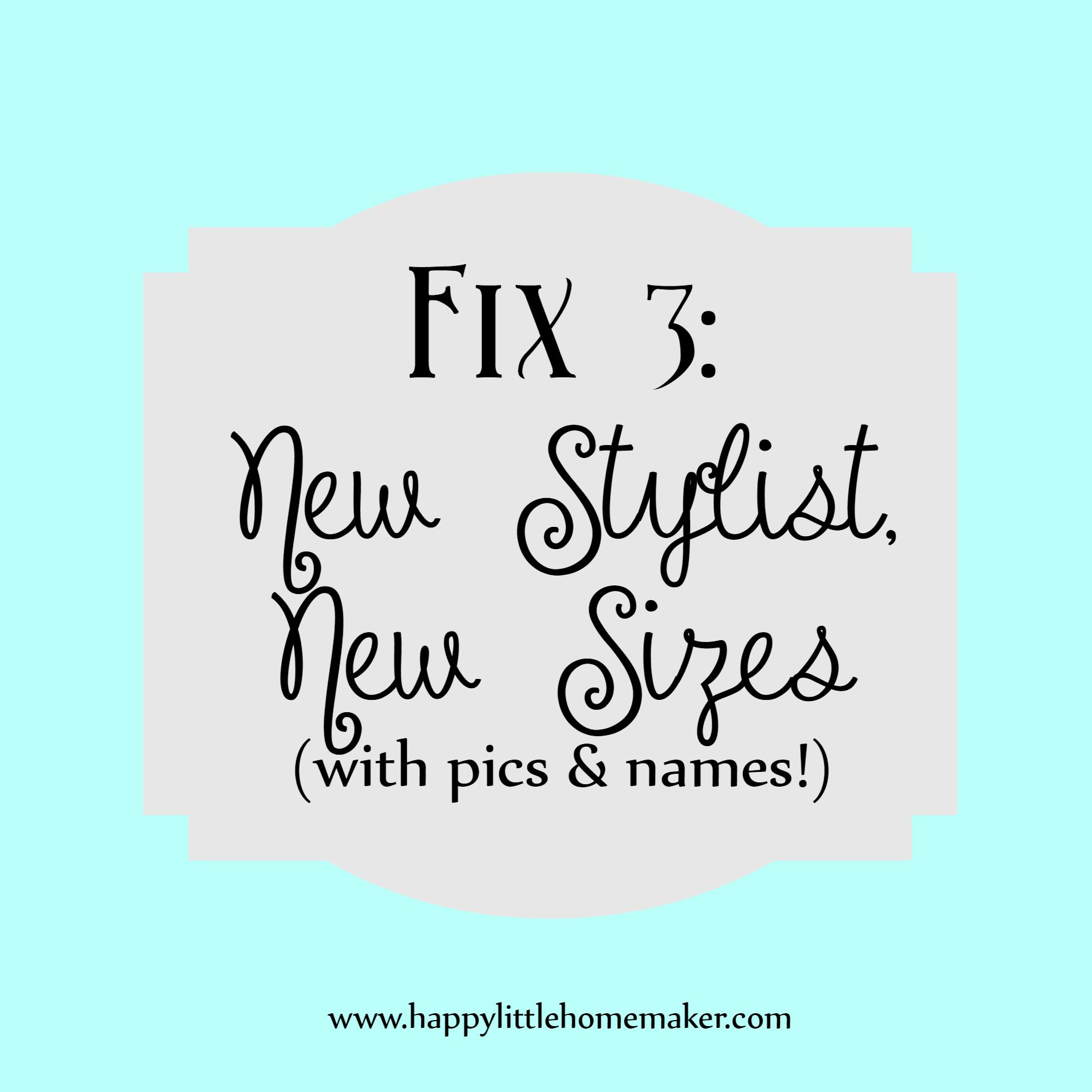 StitchFix 3 revealed with pics and names