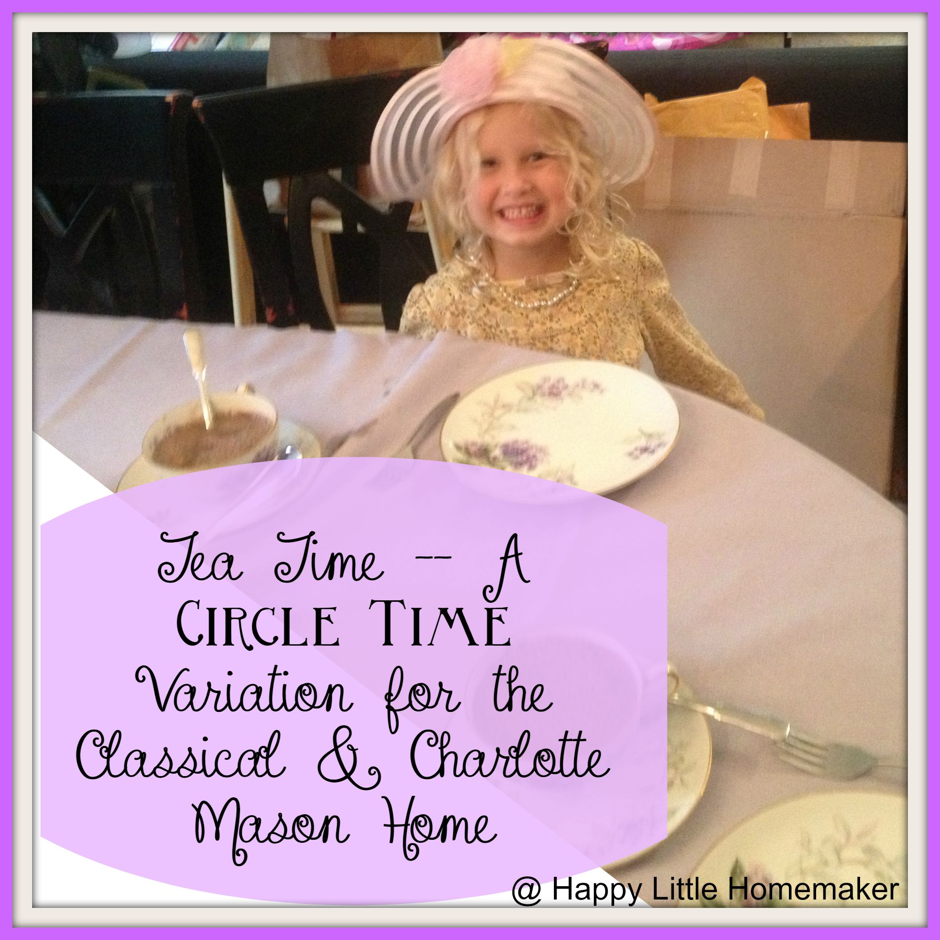 Tea Time - A Circle Time Variation