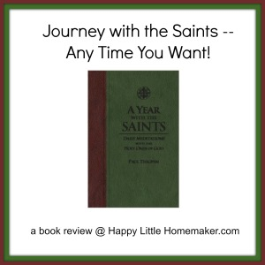 a year with the saints book review