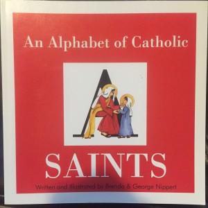 alphabet of catholic saints cover
