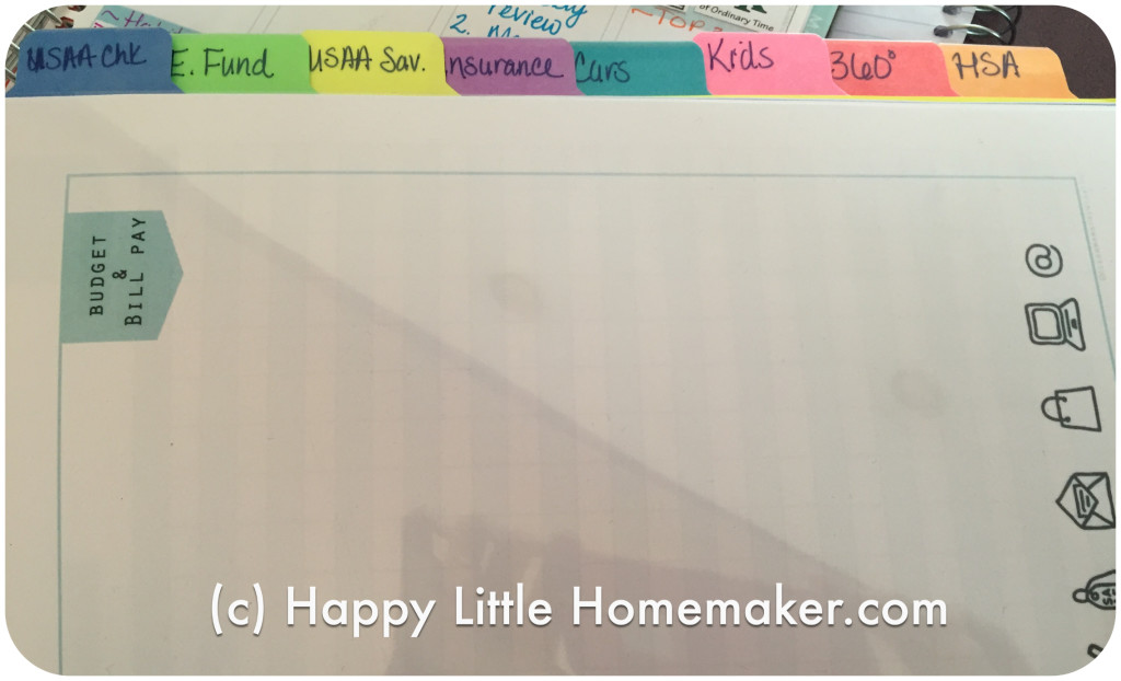 budget binder show tell happy little homemaker