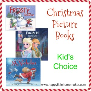 christmas picture books kids choice