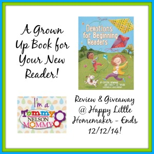 devotions for early readers review giveaway
