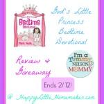 gods princess bedtime devo giveaway