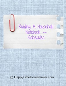 household-notebook-schedules