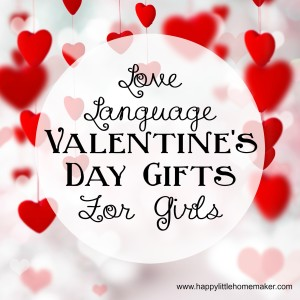 love language valentines day gifts for girls