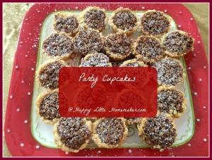 party cupcake recipe small nut tarts 2