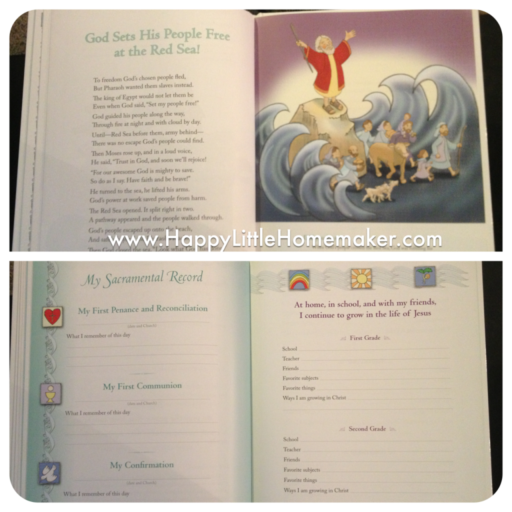 baby book for catholic babies