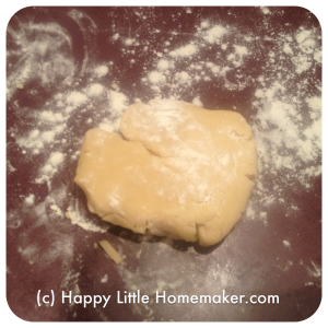 sugar cookie third of recipe