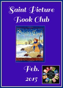 saint picture book club february brigid