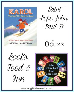 saint pope john paul ii october feast day saint picture book club