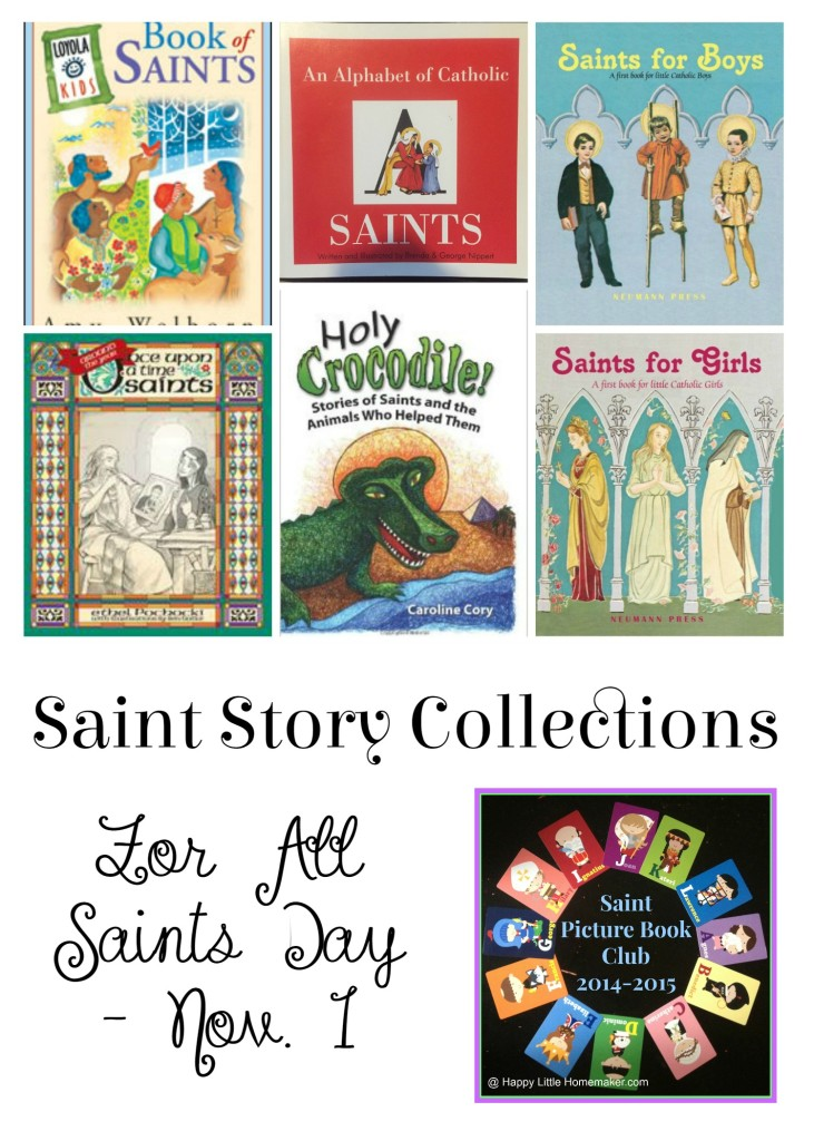 saint story collections all saints day saint picture book club