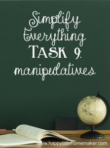 simplify 09 manipulatives