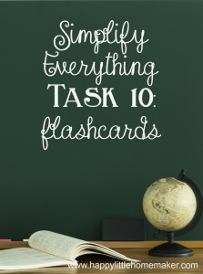 simplify 10 flashcards