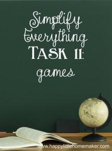 simplify 11 games