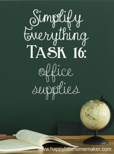 simplify 16 office supplies