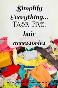 simplify everything 05 hair accessories