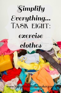 simplify everything 08 exercise clothes