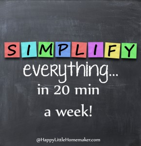 simplify everything in 20 minutes