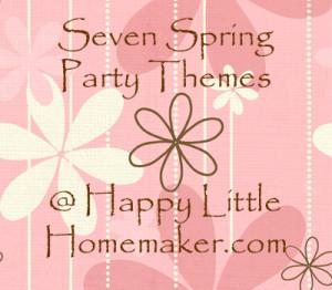 spring party theme