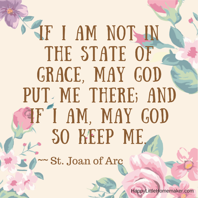 state of grace- st joan of arc