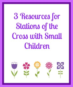 graphic about Stations of the Cross Prayers Printable known as 3 Elements for Stations of the Cross For Little Small children