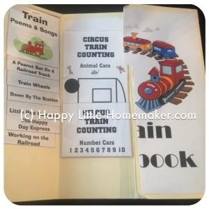train-lapbook