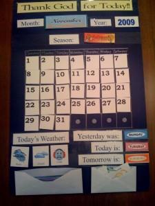 weather-station-calendar
