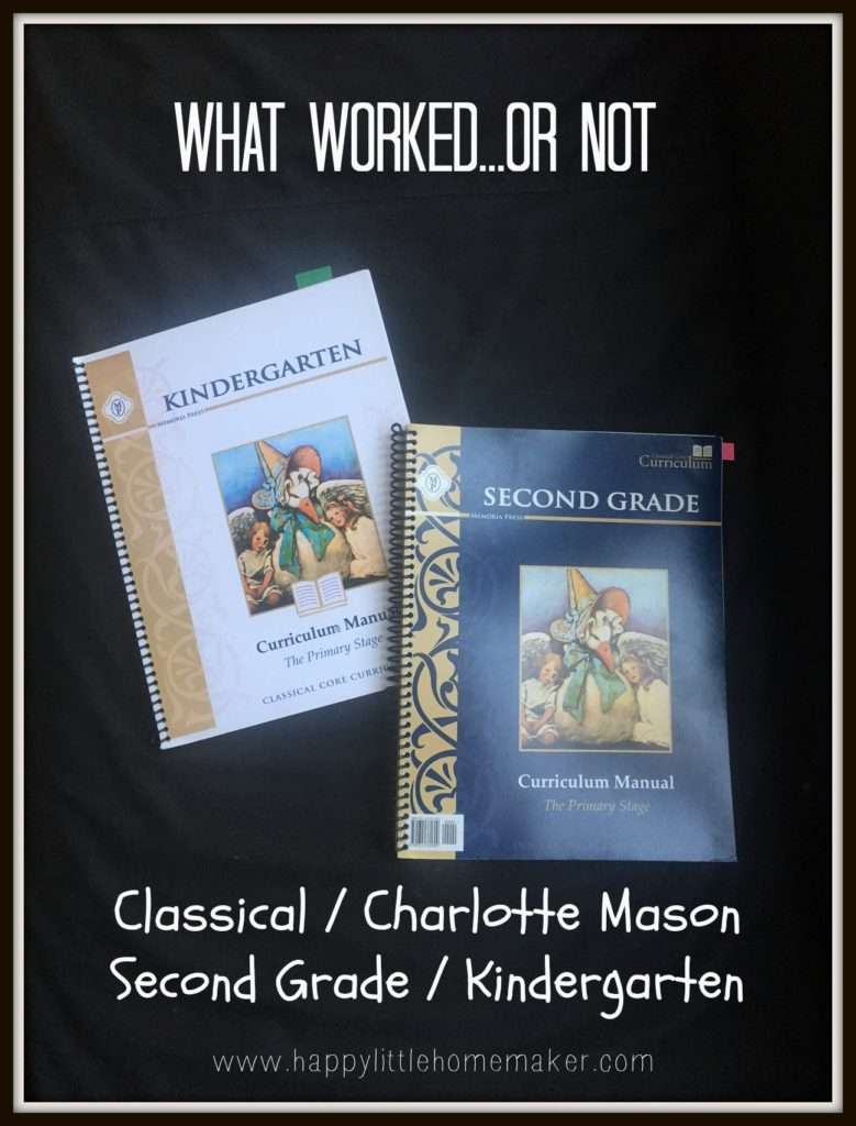 what worked 2016 homeschool curriculum