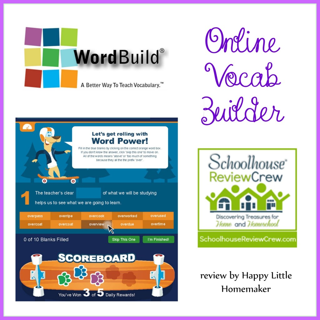 word build vocabulary builder online review